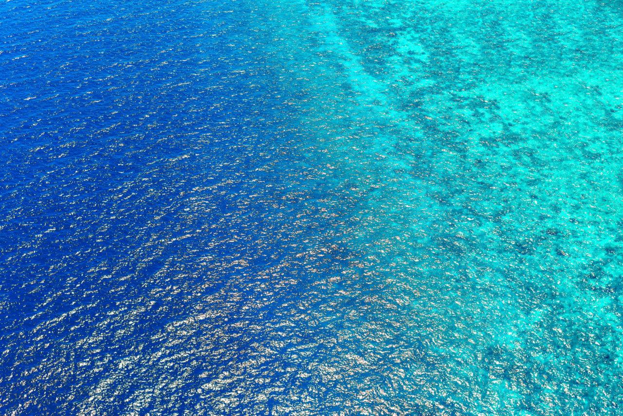 Море с высоты птичьего полета. Фотограф: Ibrahim Asad